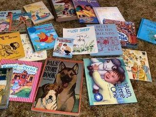 CHIlDRENS BOOKS MANY OF THEM VINTAGE