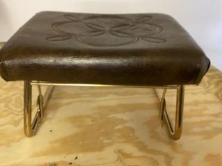 MID CENTURY FOOT REST THAT IS ADJUSTABlE