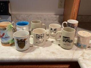 DECORATIVE COFFEE CUPS