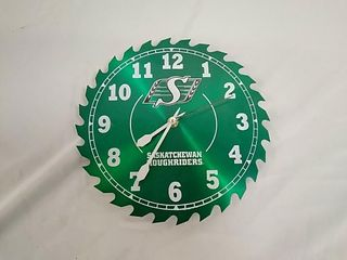 Saskatchewan Roughriders Wall Clock