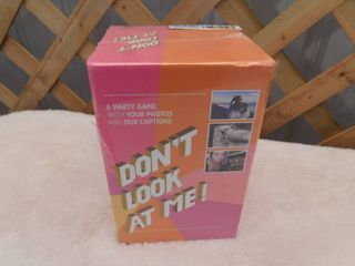 Don t look At Me party game