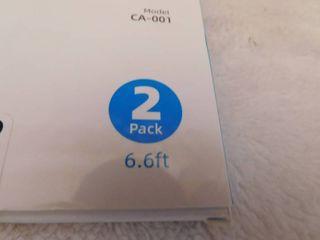 2   pack Gekrtek Type C Cable 6 6ft