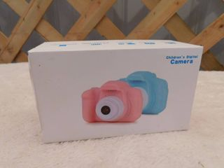 Children s digital camera color  pink comes with memory card and USB cord