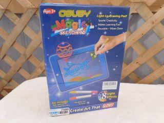 Obuby kids magic sketchpad  lights up