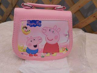 Peppa Pig pink purse