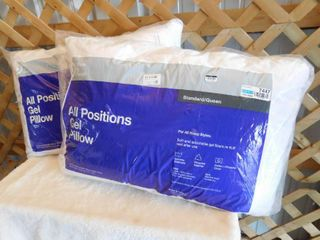 Made by design 2 all positions gel pillow size  Queen 20inx28in