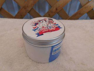 Fluffy unicorn poop Soft foam putty jar