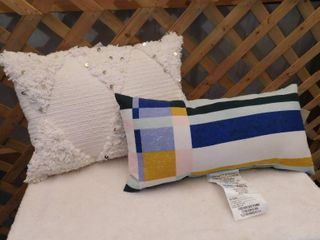 Project 62 outdoor pillow 10inx 2in  Opalhouse decorative pillow 14inx20in
