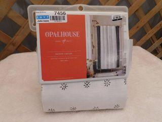 Opalhouse shower curtain 72inx72in