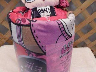 lOl Surprise slumber set with slumber bag and plush pillow