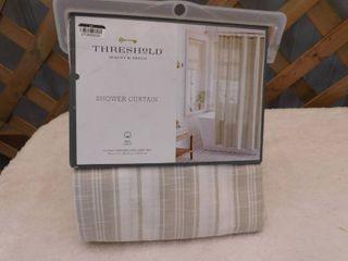 Standard top shower curtain 72inx72in