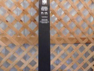 Umbra loft double drapery rod set 36in 66in