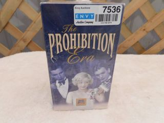 The Prohibition Era VHS Tapes