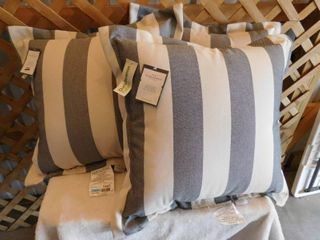 3  Threshold deep seat back pillows 24in l x 26in W x 8in H
