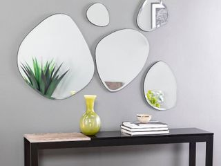 Holly   Martin Woxsley Frameless Cluster Wall Mirror Set
