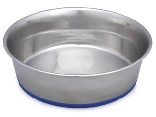 Premium Heavy Pet Dish with Silicon Base  Set of 2