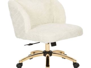 Silver Orchid Brent Office Chair in Cream Fabric Retail 209 99