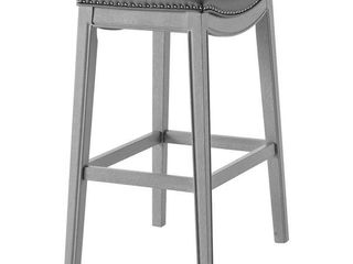 Grover PU leather Bar Stool