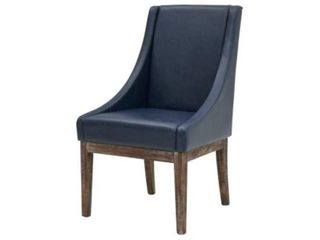 Bonded leather Tall Back Chair  BROKEN lEGS