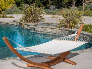 Grand Cayman Hammock with Cream Canopy