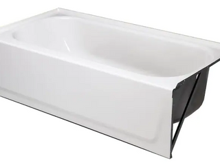 Bathtub with Right Hand Drain