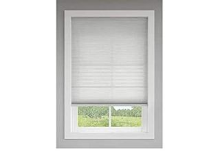 Two Graphite light Filtering Cordless Cellular Shades