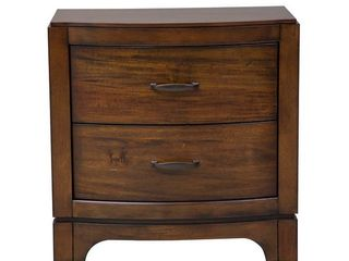 Nikopol Pebble Brown 2 drawer Nightstand