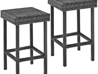 Palm Harbor Wicker Counter Height Stools