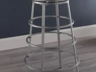 liv 30 inch Silver  White Bar Stool  Retail 117 99