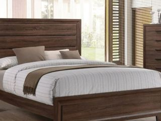 Carbon loft Matoba Medium Brown 3 piece Bedroom Set   Queen Mattress NOT Included