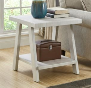 The Gray Barn Cedar Ridge Contemporary Replicated Wood Shelf Coffee Table Retail 144 49