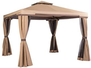 Suncrown Outdoor 10 ft  Patio Garden Gazebo  Retail 431 55