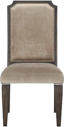 Peregrine Side Chair  Set 2  in Fabric   Dark Brown Retail 338 99