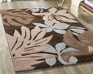 Copper Grove Kawambwa Brown and Multicolored Area Rug 4  x 6