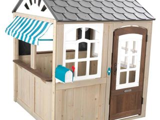 KidKraft Hillcrest Wooden Outdoor Playhouse
