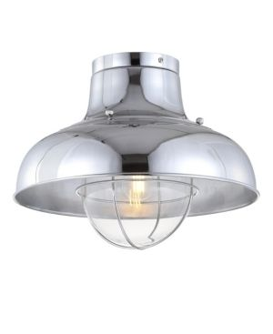 Cameron 13  Metal lED Semi Flush mount  Chrome by JONATHAN Y Retail 85 84