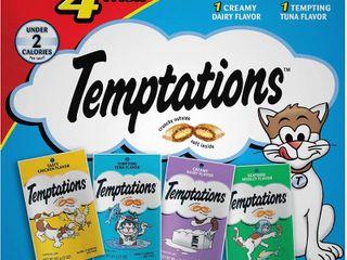 Temptations Cat Treats Variety Packs  RETAIl  7 40