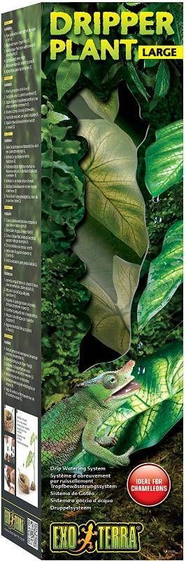 Exo Terra Dripper Plant  Ideal for arboreal reptiles like Chameleons   RETAIl  44 99