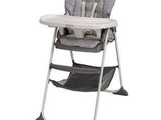 Graco Slim Snacker High Chair   Ultra Compact High Chair  Whisk  RETAIl  59 99