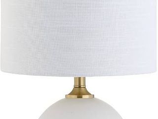 JONATHAN Y Carr 23 5  Ceramic Metal lED Table lamp Modern Contemporary Glam  RETAIl  46 68
