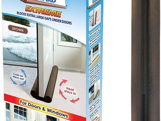 Twin Draft Guard Extreme for Doors Brown  RETAIl  16 99
