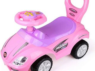 Deluxe Mega Ride on Push Car Foot to Floor  Pink   RETAIl  54 99