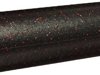 AmazonBasics High Density Exercise  Massage  Muscle Recovery  Round Foam Roller  Red Speckled  18   RETAIl  15 49