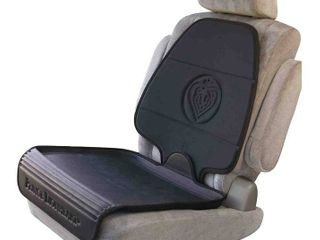 Prince lionheart Car Seat Protector  The Only 2 Stage Seatsaver Designed with Thick Padding  Nonabsorbent  Waterproof  PVC Foam   Works With All Baby and Toddler Car Seats   Black  RETAIl  27 00