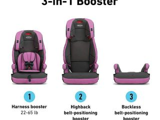 Graco Tranzitions 3 in 1 Harness Booster Seat  Kyte  RETAIl  99 99