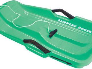 Slippery Racer Downhill Thunder Kids Snow Sled  Green  RETAIl  26 99