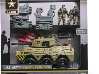 United States Army Heavy Urban Tank with 2 Soldiers  RETAIl  34 73