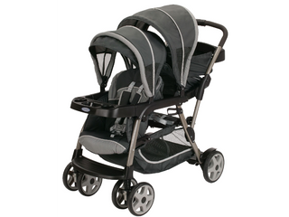 Graco Ready2Grow Click Connect lX Double Stroller  RETAIl  219 99
