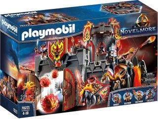 Playmobil Novelmore Burnham Raiders Fortress Playset  RETAIl  149 99