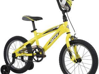 Huffy MotoX Boys Bike  Yellow  Quick Connect  16   RETAIl  124 99